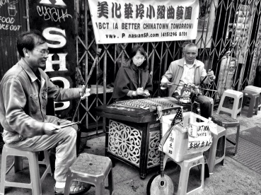 The band is back together in Chinatown